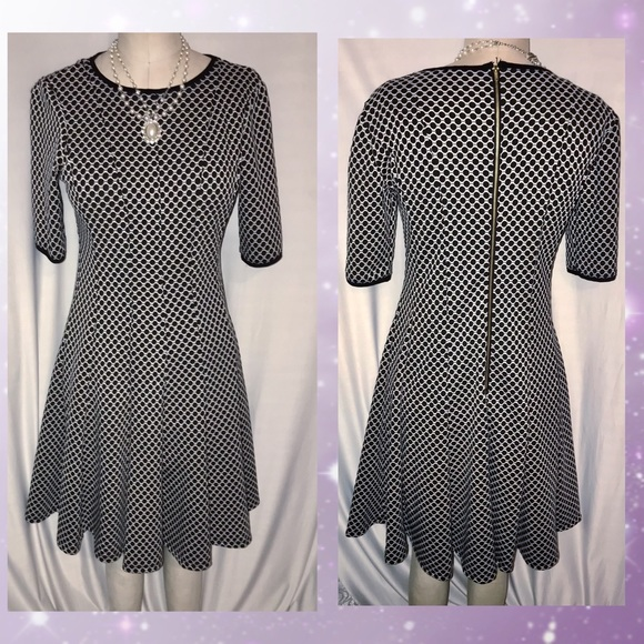 Danny and Nicole fit & flare dress size 6